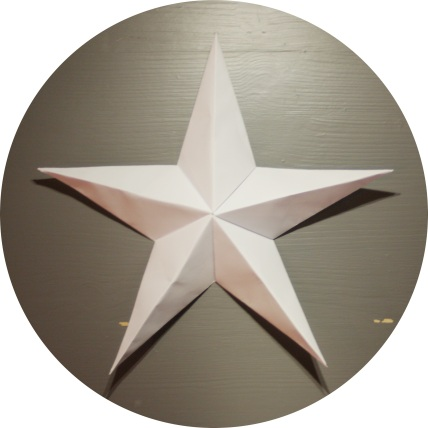 Modulær femkantet stjerne - foldyouso.com