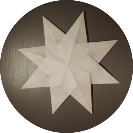 Åttekantet papirstjerne - foldyouso.com
