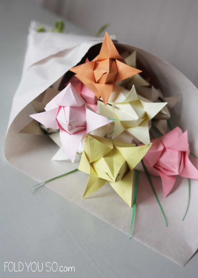 Origami-Tulip-Bouquet-by-Fold-You-So