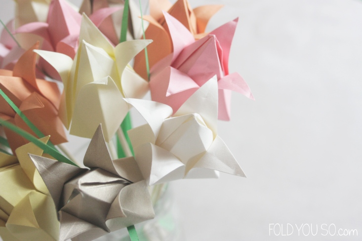 Origami-Tulips-by-Fold-You-So