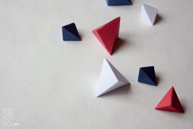 Geometric paper decor - Fold You So!